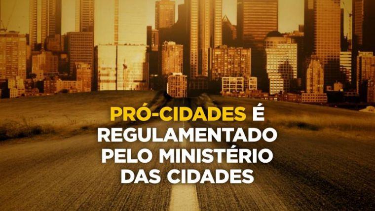 Pró-cidades é regulamentado pelo Ministério das Cidades