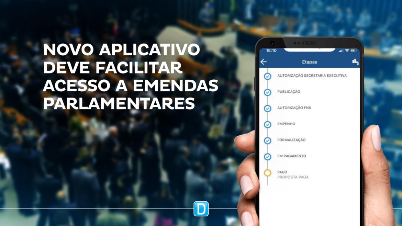 Novo aplicativo deve facilitar acesso a emendas parlamentares