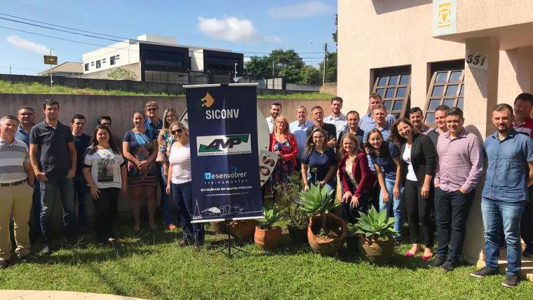 Em Ponta Grossa, segundo curso sobre o novo projeto básico do Siconv é realizado