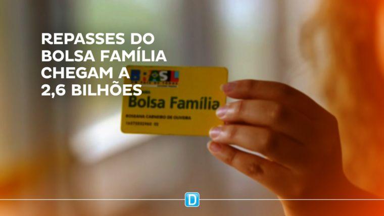 Bolsa Família repassa R$ 2,6 bilhões a beneficiários em abril