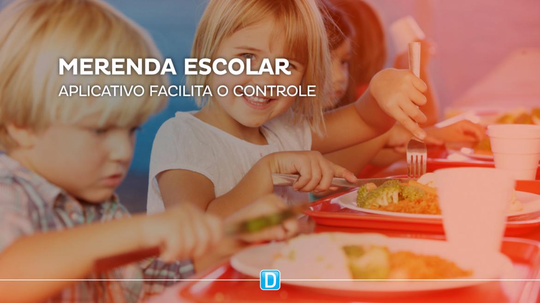 Aplicativo facilita acompanhamento da alimentação escolar