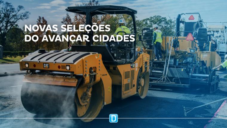Dezesseis municípios são pré-selecionados para receber investimentos do Avançar Cidades – Mobilidade Urbana