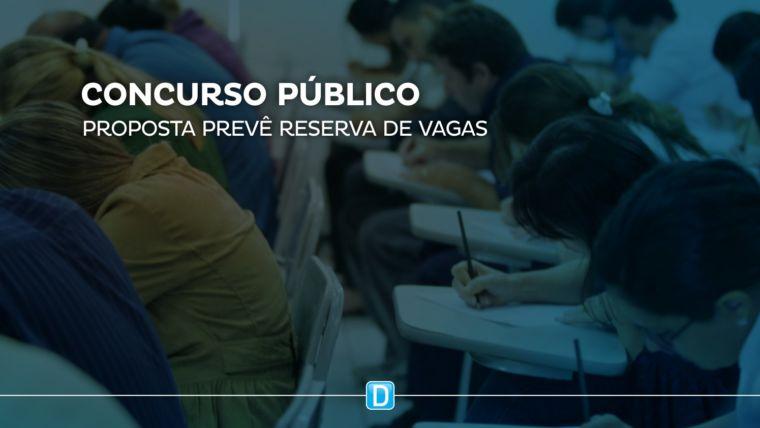 Projeto reserva 20% das vagas em concursos para alunos de escolas públicas
