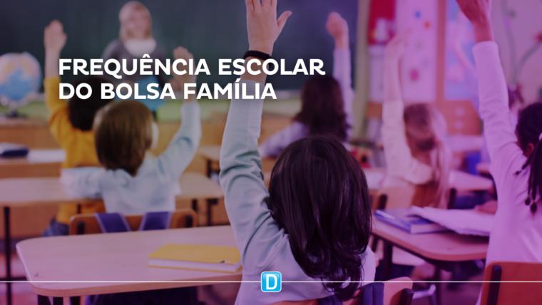 Acompanhamento da frequência escolar do Bolsa Família chega a número recorde