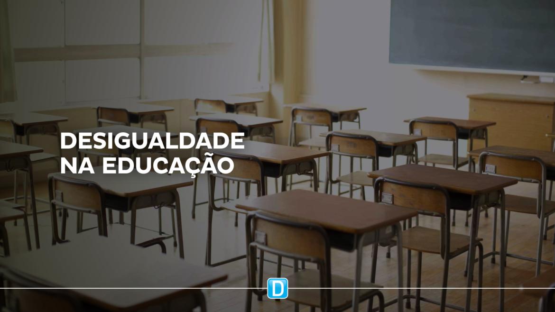 Diferença no investimento por aluno chega a 7 vezes entre municípios