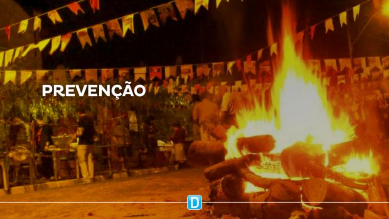 Combinação de clima seco e festas juninas favorece as queimaduras