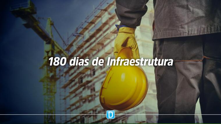 180 dias: Ministério da Infraestrutura realiza leilões e inaugura obras vitais para setor