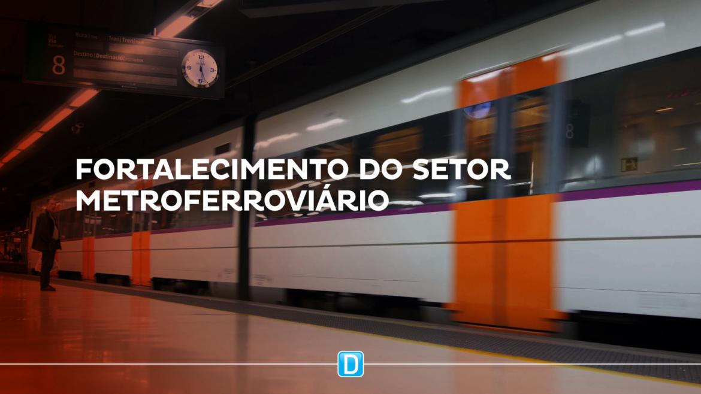 Investimentos em sistemas metroferroviários levarão benefícios concretos à população