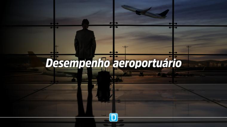 Pela primeira vez, todos os aeroportos avaliados superam meta estipulada pelo governo