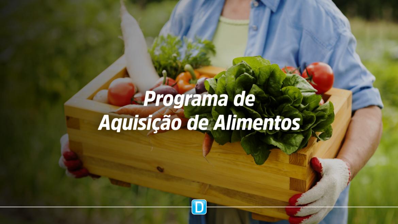 Órgãos públicos promovem fortalecimento da agricultura familiar