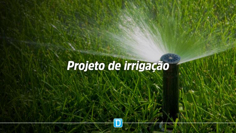 Lançamento de obras em projeto de irrigação na Bahia