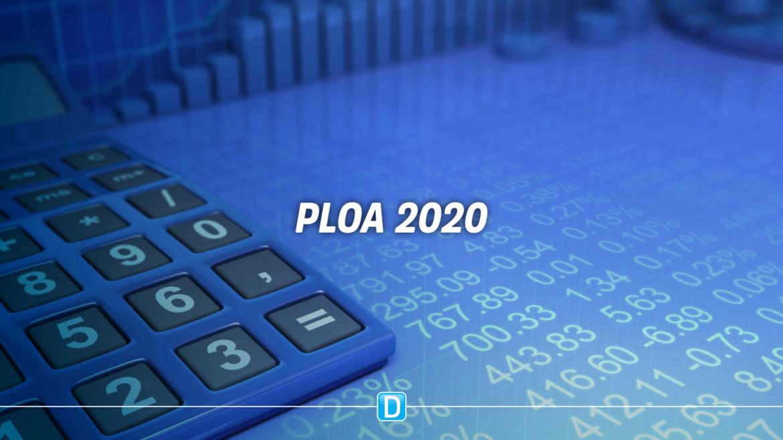 Consolidação dos recursos totais previstos em cada órgão da União na PLOA 2020
