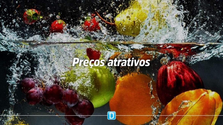 Prohort mostra tendência de queda nos preços de frutas e hortaliças