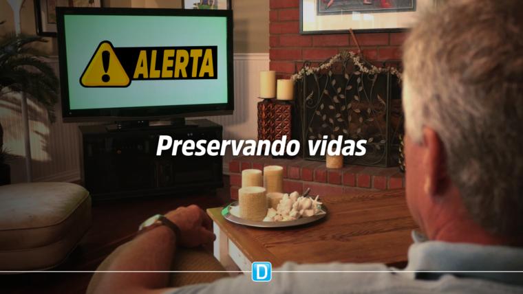 Alertas de desastres via TVs por assinatura chegarão a todo o Brasil até o fim do ano