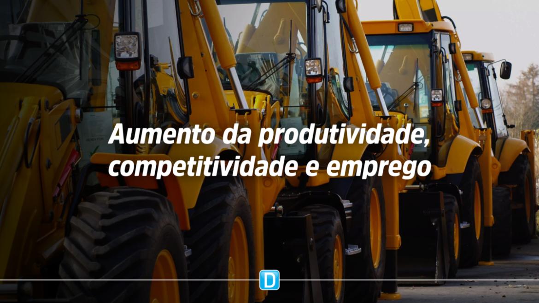 Secretário de produtividade apresenta medidas para incrementar negócios no setor de máquinas