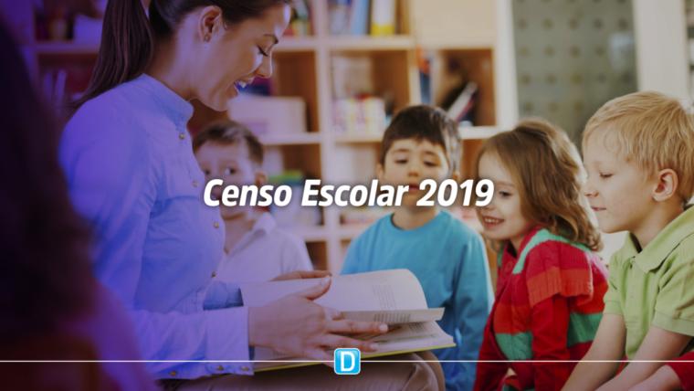 Escolas públicas têm até final do mês para conferir dados do Censo Escolar 2019