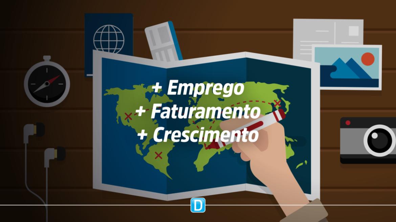 Pesquisa da CNC aponta faturamento recorde e geração de empregos no turismo brasileiro