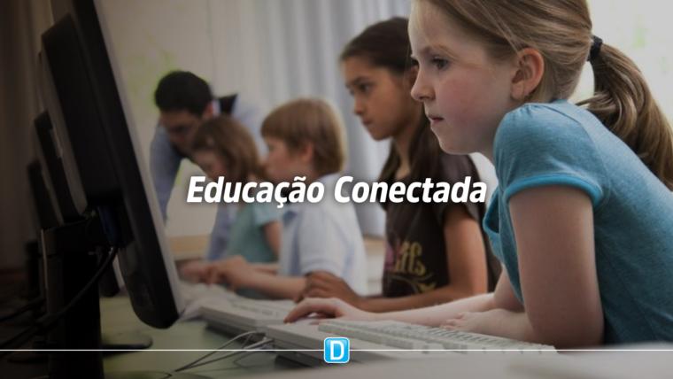 Governo federal vai conectar 100% das escolas públicas aptas a receber internet