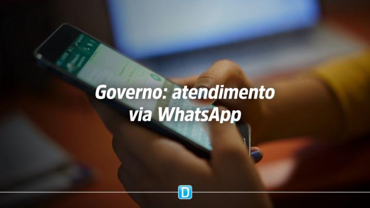 Governo usa whatsapp em atendimento virtual