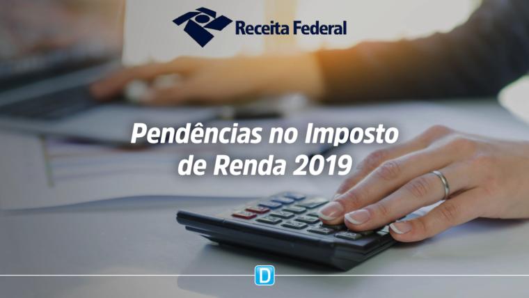 Receita envia cartas a 330 mil contribuintes com pendências na declaração de 2019
