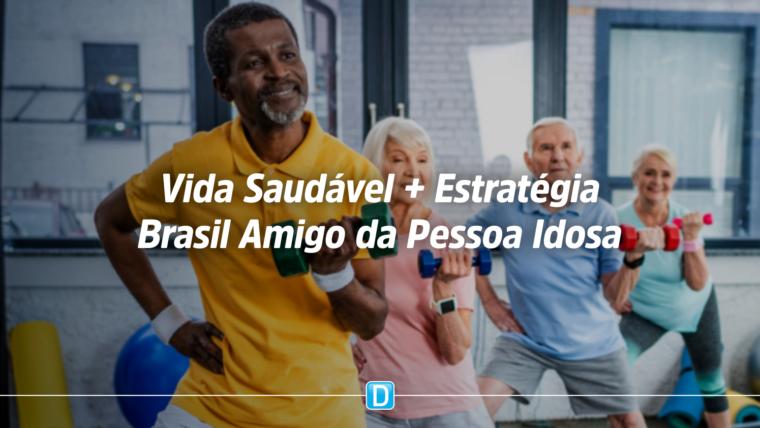 Ministério da Cidadania lança ação para estimular prática de exercícios por idosos