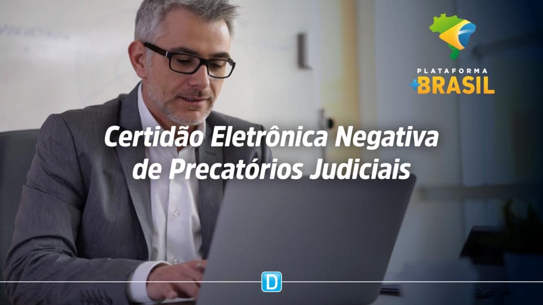 Comunicado nº 40/2019 – TRF1 – Implantação de certidão eletrônica negativa de precatórios judiciais