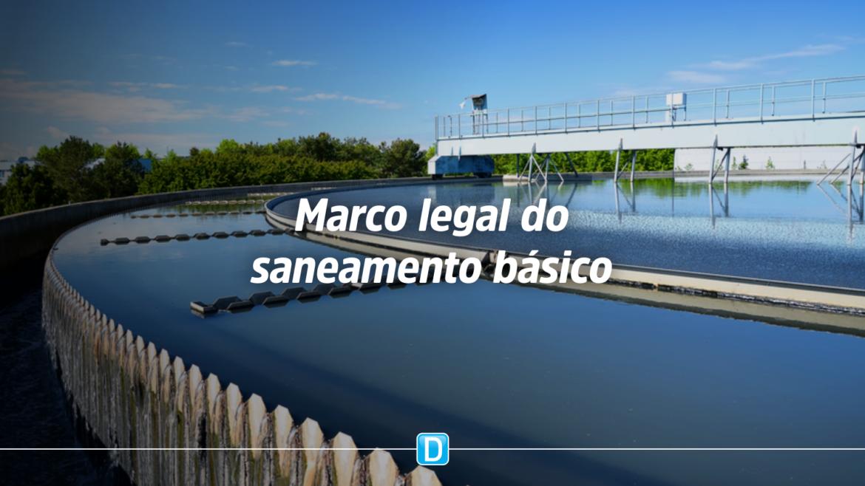 Câmara aprova novo marco legal do saneamento básico