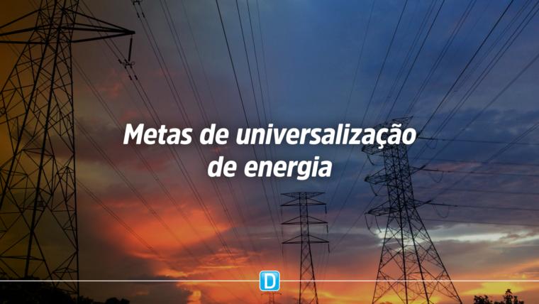 Comissão aprova metas de universalização de energia sem ônus para sistemas isolados