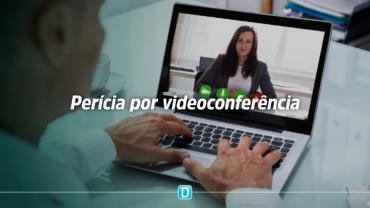 Perícia por videoconferência já está disponível para todos os servidores