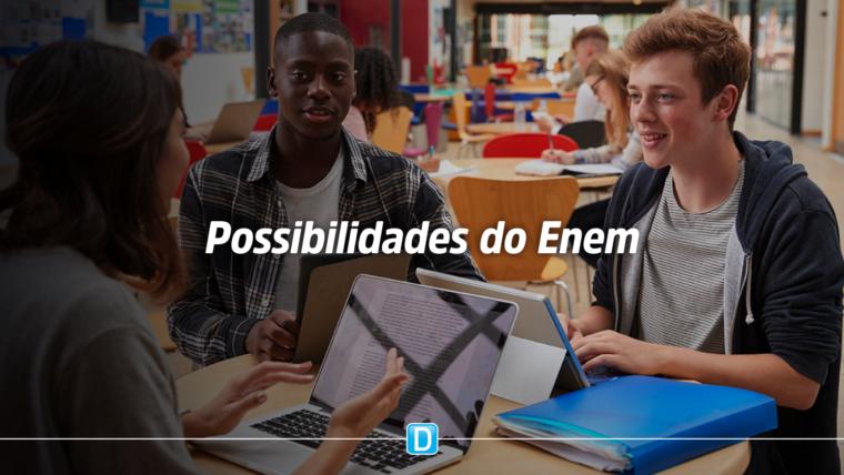 Bolsas de estudos e chance em Portugal: saiba o que é possível fazer com a nota do Enem