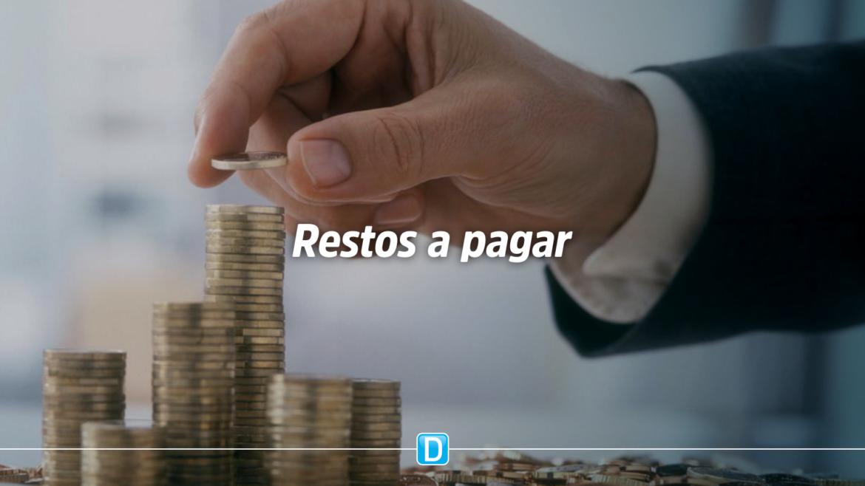 Estoque de restos a pagar cai para R$ 180,7 bilhões