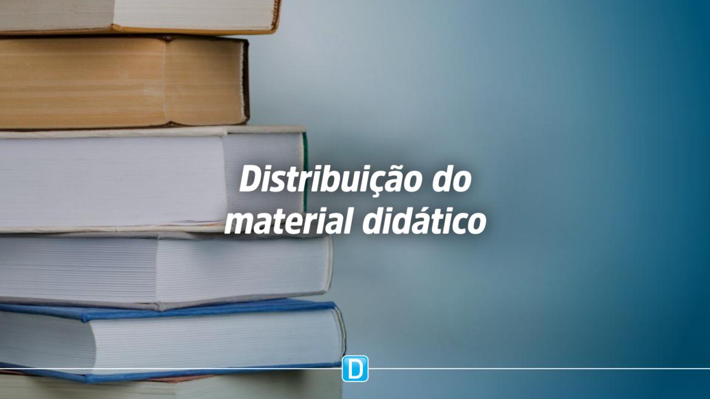 Escolas devem ter um representante para receber os livros do PNLD no período de recesso e férias escolares
