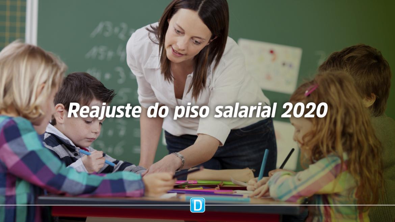 MEC divulga reajuste do piso salarial de professores da educação básica para 2020