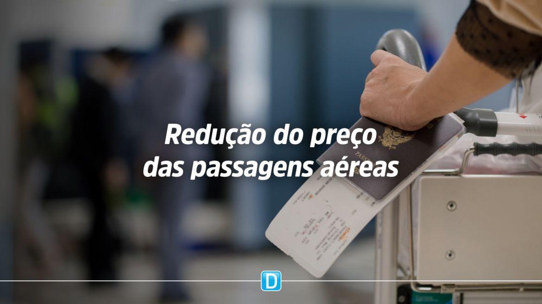 Governo Federal recebe propostas das aéreas para reduzir preço de passagens