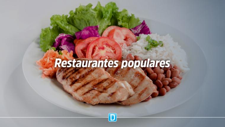 Mais de 130 restaurantes populares garantem alimentação saudável para população vulnerável