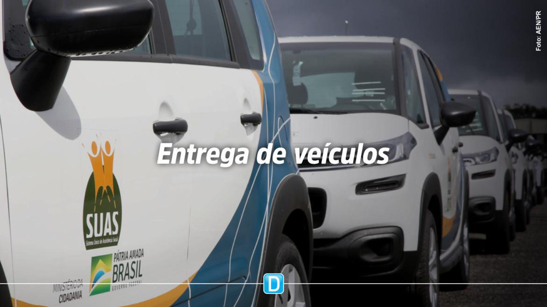MOB-Suas: em entrega recorde, Paraná recebe 237 veículos para a Rede de Assistência Social