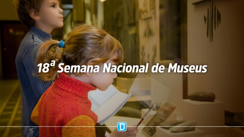 Museus municipais podem se inscrever na 18ª Semana Nacional de Museus