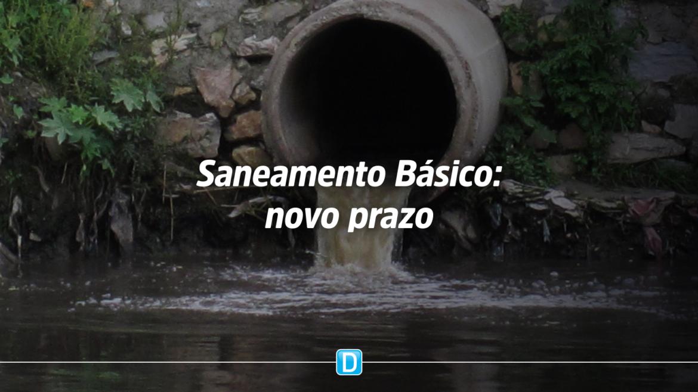 Municípios devem elaborar seus Planos de Saneamento Básico até dezembro de 2022