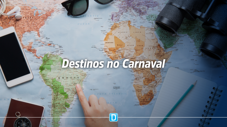 Mais da metade dos brasileiros que viajarão no Carnaval fugirão das grandes festas