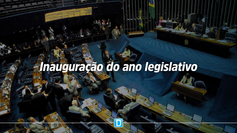 Sessão solene do Congresso inaugura o ano legislativo