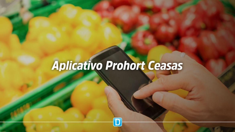 Carrinho de Compras explica como funciona o aplicativo Prohort Ceasas