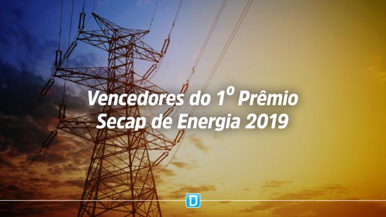 Divulgada a lista dos vencedores do 1º Prêmio Secap de Energia 2019