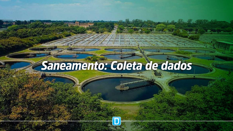 Ciclo anual de coleta de dados sobre o setor de saneamento terá início no final de março
