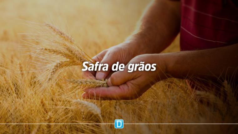 Safra de grãos deve alcançar recorde de 251,9 milhões de toneladas