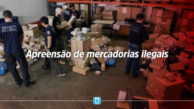 Receita Federal bate recorde de apreensão de mercadorias ilegais em 2019
