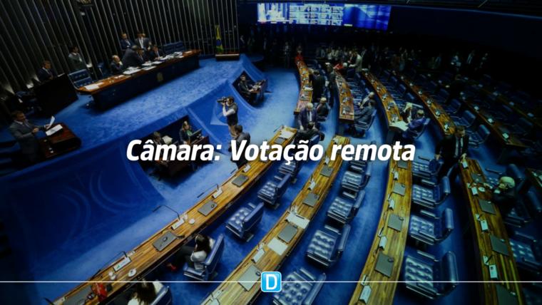 Câmara aprova sistema de votação remota de projetos