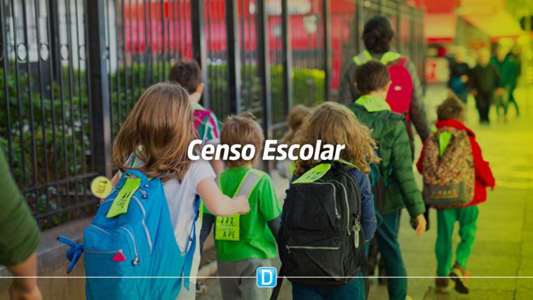 Escolas têm até 20 de março para enviar informações sobre alunos