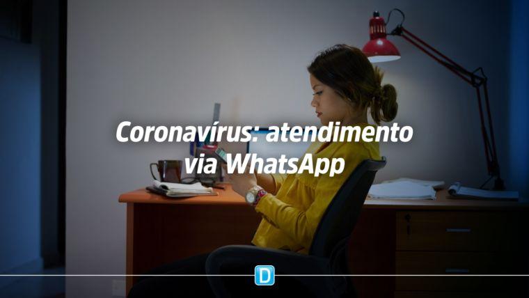Ministério da Saúde utiliza WhatsApp para tirar dúvidas sobre o novo coronavírus