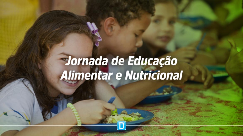 Escolas públicas já podem se inscrever na Jornada de Educação Alimentar e Nutricional 2020