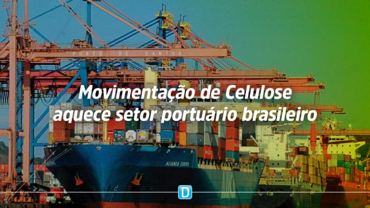 No Paraná, ministro da Infraestrutura assina contrato para movimentação de celulose no Porto de Paranaguá